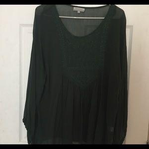 World Market Boho style blouse